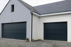 Porte de garage sectionnelle - Herbignac