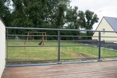 Garde-corps aluminium terrasse - Herbignac