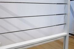 Garde-corps avec câbles inox - Herbignac