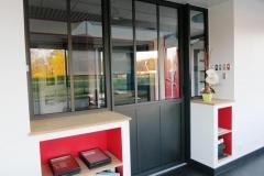 Menuiserie intérieure - verrière aluminium style atelier