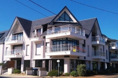 Habitat collectif à Pornichet - menuiseries extérieures