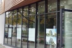 Façade vitrée - Saint-Nazaire