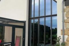Verrière avec vitrage de contrôle solaire - Camoel