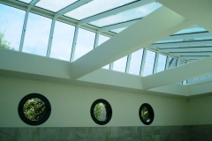 Verrière en toiture vue de l'intérieur - La Baule