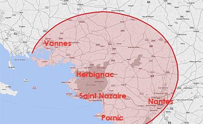 Zone d'Intervention - MenuiserieDavid